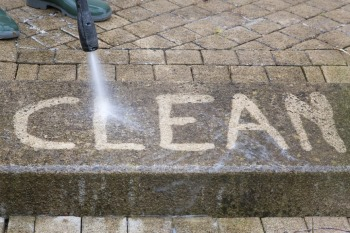 Pressure washing by Elizabeth & Cloves Cleaning in Groveland