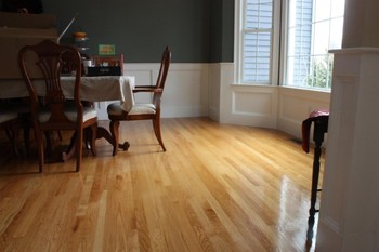 After Hardwood Flooring Cleaning in North Reading, MA